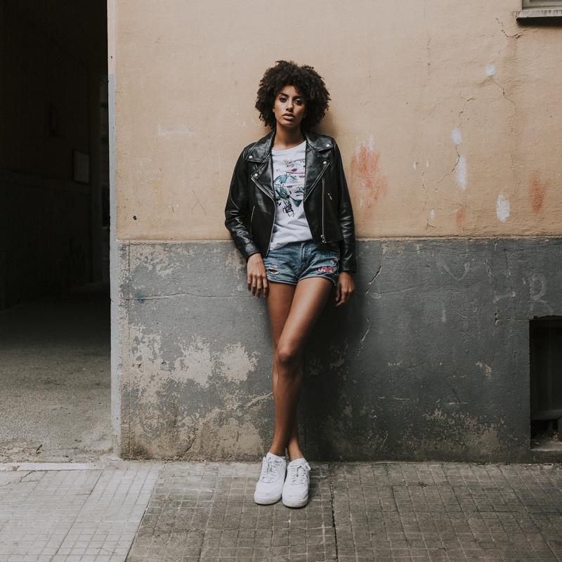 Servizio Fotografico Fashion Roma Art Glamour modella figura intera